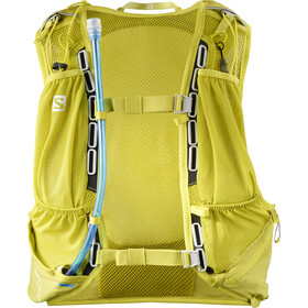 Salomon Skin Pro 10 Backpack Set citronelle/sulphur spring